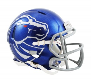 Boise St Broncos Revolution Speed Mini Helmet NEW 2013