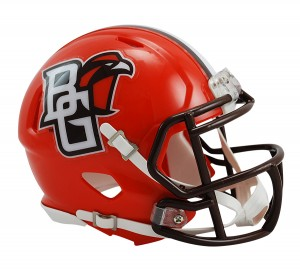Bowling Green Falcons Revolution Speed Mini Helmet