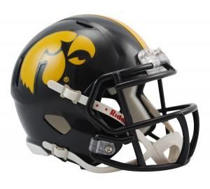 Iowa Hawkeyes Revolution Speed Mini Helmet