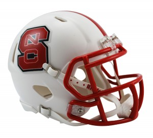 North Carolina St Wolfpack Revolution Speed Mini Helmet