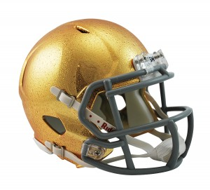 Notre Dame Fighting Irish HydroSkin Revolution Speed Mini Helmet NEW 2013