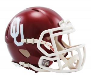 Oklahoma Sooners Revolution Speed Mini Helmet