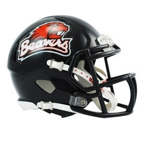 Oregon St Beavers 1999-2012 Throwback Revolution Speed Mini Helmet