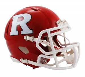 Rutgers Scarlet Knights Revolution Speed Mini Helmet
