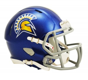 San Jose St Spartans Revolution Speed Mini Helmet