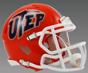 UTEP Miners Revolution Speed Mini Helmet