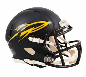 Toledo Rockets Matte Navy Revolution Speed Mini Helmet NEW 2013