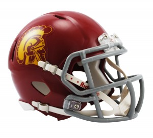 USC Trojans Revolution Speed Mini Helmet