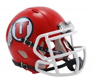 Utah Utes Revolution Speed Mini Helmet