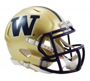 Washington Huskies Revolution Speed Mini Helmet