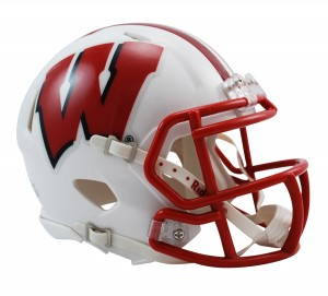 Wisconsin Badgers Revolution Speed Mini Helmet