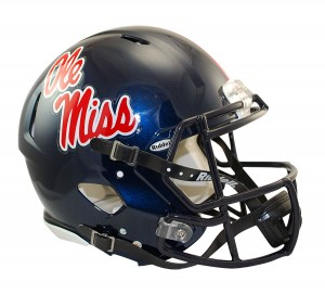 Ole Miss Rebels Authentic Revolution Speed Full Size Helmet