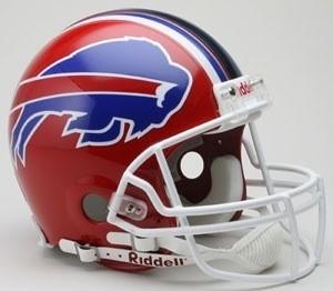 Buffalo Bills 2002-2010 Throwback Authentic Full Size Helmet