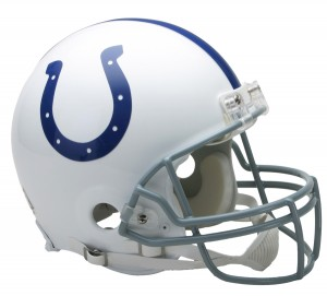 Indianapolis Colts 2004-2019 Throwback Riddell Full Size Authentic Vsr4 Helmet
