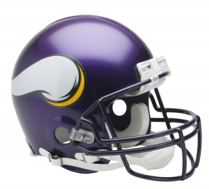 Minnesota Vikings 2006-2012 Throwback Auth Proline Full Size Helmet