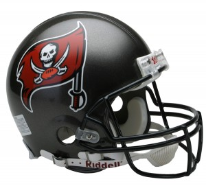 Tampa Bay Buccaneers 1997-2013 Throwback Authentic Full Size Helmet