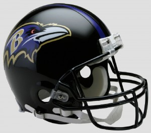 Baltimore Ravens Authentic Proline Full Size Helmet