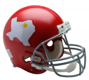 Dallas Texans 1960-1962 Throwback Authentic Full Size Helmet