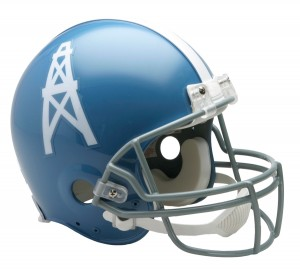 Houston Oilers 1960-1962 Throwback Authentic Full Size Helmet