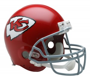 Kansas City Chiefs 1963-1973 Throwback Authentic Full Size Helmet
