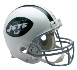 New York Jets 1965-1977 Throwback Authentic Full Size Helmet