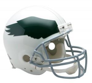 Riddell NFL Philadelphia Eagles 1969-1973 Throwback Authentic Vsr4 Full Size Football Helmet