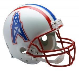 Houston Oilers 1981-1996 Throwback Authentic Full Size Helmet