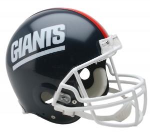 New York Giants 1981-1999 Throwback Authentic Full Size Helmet
