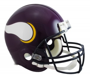 Minnesota Vikings 1983-2001 Throwback Authentic Full Size Helmet