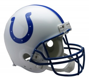 Indianapolis Colts 1995-2003 Throwback Authentic Full Size Helmet