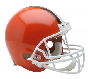 Cleveland Browns 1975-2005 Throwback Authentic Full Size Helmet