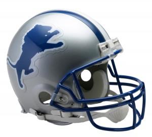Detroit Lions 1983-2002 Throwback Authentic Full Size Helmet