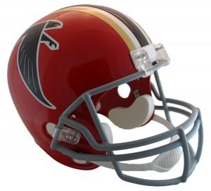 Atlanta Falcons 1966-1969 Throwback Replica Full Size Helmet