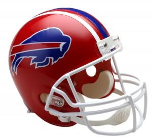 Buffalo Bills 1987-2001 Throwback Replica Full Size Helmet