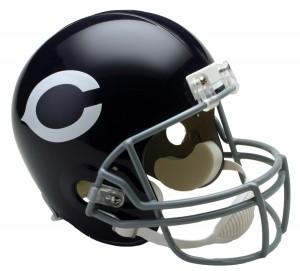 Chicago Bears 1962-1973 Throwback Replica Full Size Helmet