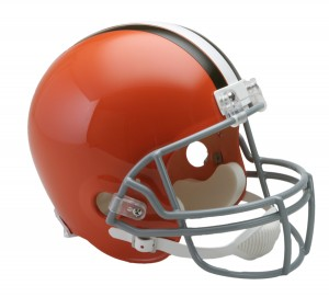 Cleveland Browns 1962-1974 Throwback Replica Full Size Helmet
