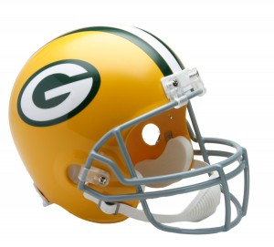 Green Bay Packers 1961-1979 Throwback Replica Full Size Helmet