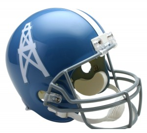 Houston Oilers 1960-1962 Throwback Replica Full Size Helmet