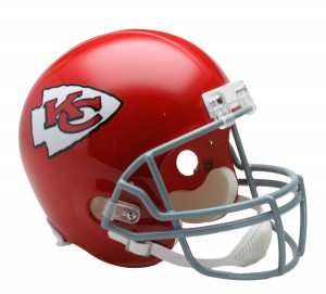 Kansas City Chiefs 1963-1973 Throwback Replica Full Size Helmet