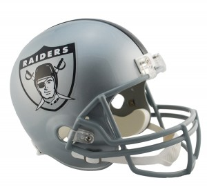 Los Angeles Raiders 1963 Throwback Replica Full Size Helmet