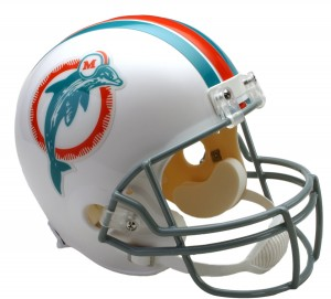 Miami Dolphins 1973-1979 Throwback Replica Full Size Helmet