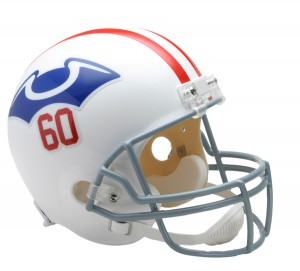 New England Patriots 1960 Throwback Replica Full Size Helmet