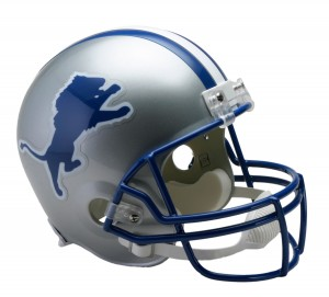Detroit Lions 1983-2002 Throwback Replica Full Size Helmet