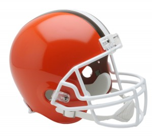 Cleveland Browns 1975-2005 Throwback Replica Full Size Helmet
