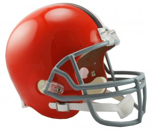 Cleveland Browns 2006-2014 Throwback Replica Full Size Helmet