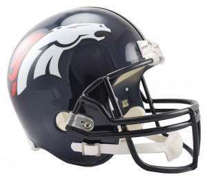 Denver Broncos Replica Full Size Helmet