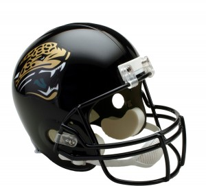 Jacksonville Jaguars 1995-2012 Throwback Replica Full Size Helmet