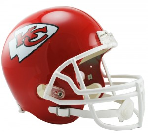 Kansas City Chiefs Replica Full Size Helmet