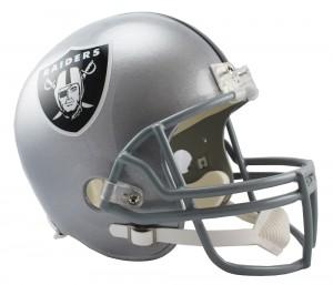 Las Vegas Raiders Riddell Replica Full Size Vsr4 Helmet