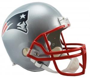 Riddell NFL New England Patriots Replica Vsr4 Full Size Football Helmet